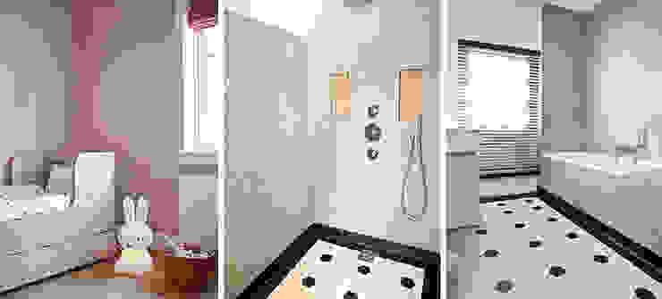 badkamer familiehuis Moderne badkamers van Binnenvorm Modern Tegels