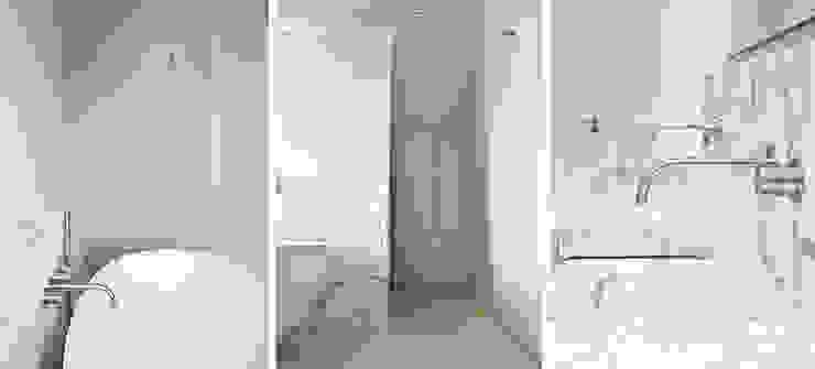 marmer maatwerk Minimalistische badkamers van Binnenvorm Minimalistisch Marmer
