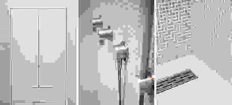 badkamer details: modern  door Binnenvorm, Modern Tegels