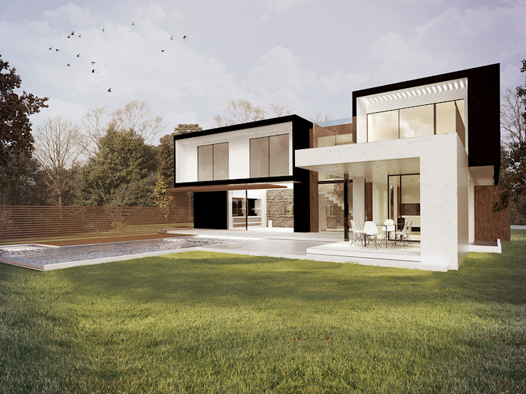 Modern houses by Metamorfosis Arquitectura Modern