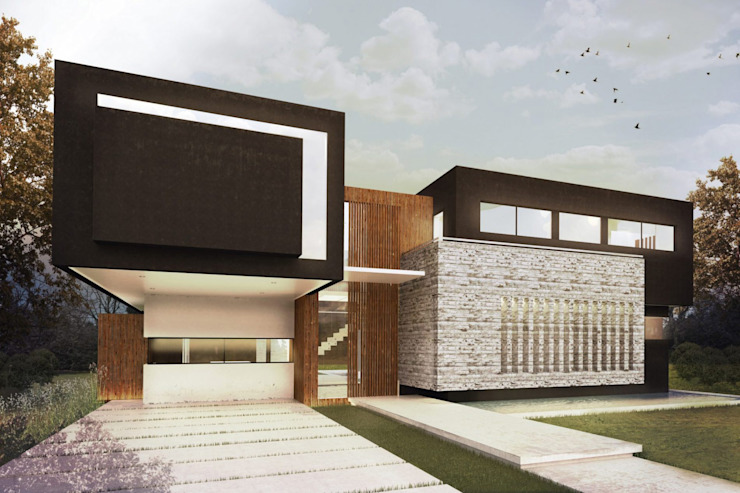 Modern houses by Metamorfosis Arquitectura Modern Wood Wood effect