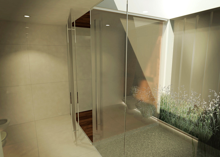 Modern style bathrooms by Metamorfosis Arquitectura Modern