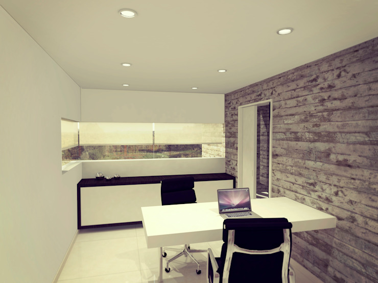 Modern style study/office by Metamorfosis Arquitectura Modern