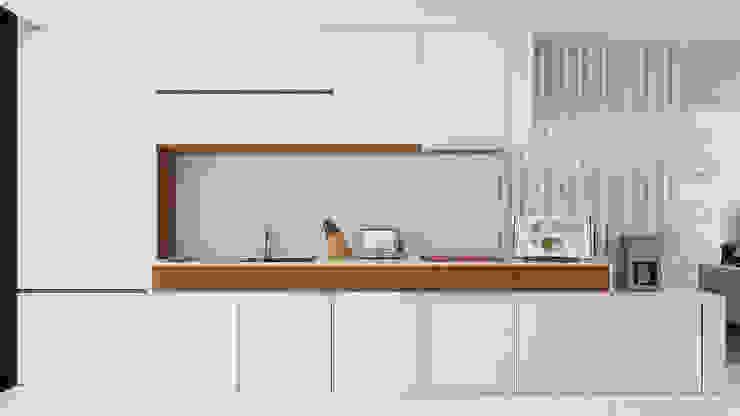 現代廚房設計點子、靈感&圖片 根據 Esboçosigma, Lda 現代風