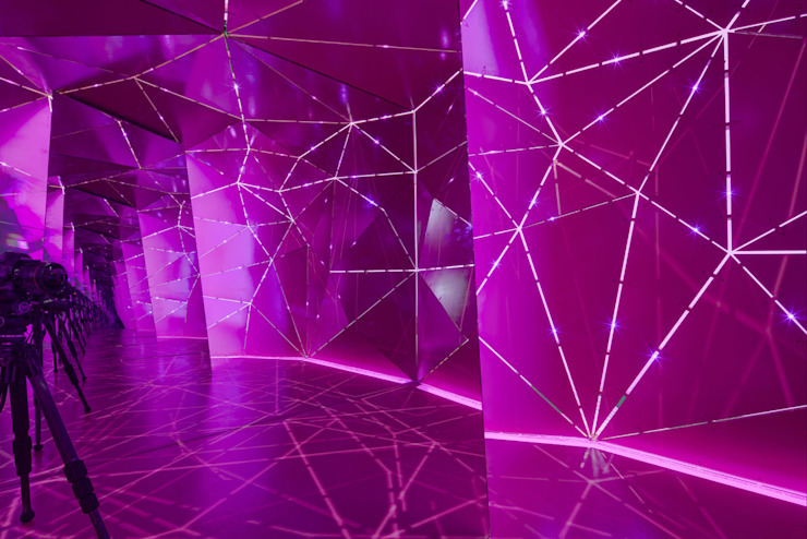 Pabellón Dos Espacios Dos Momentos RIMA Arquitectura Diseño de ferias de estilo moderno