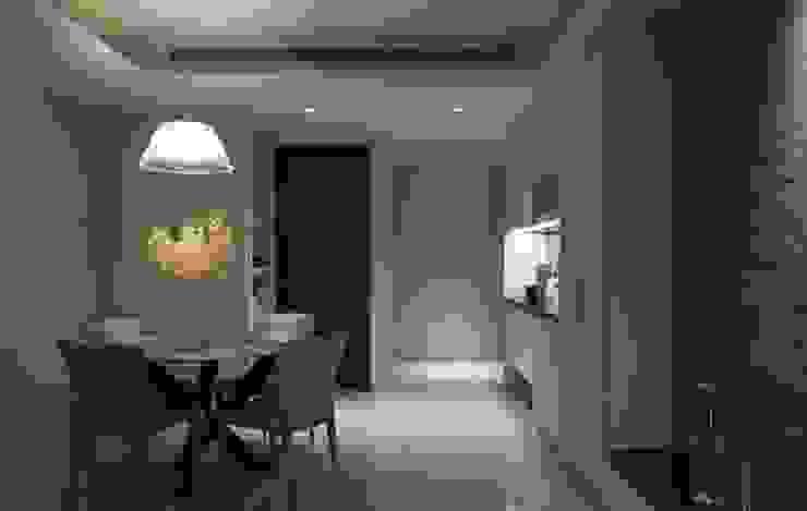 豐邑晴空匯 現代風玄關、走廊與階梯 根據 立禾空間設計有限公司 現代風