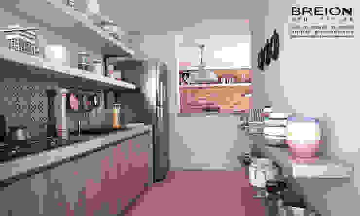 Cozinha Cozinhas minimalistas por Breion Arquitetura Minimalista