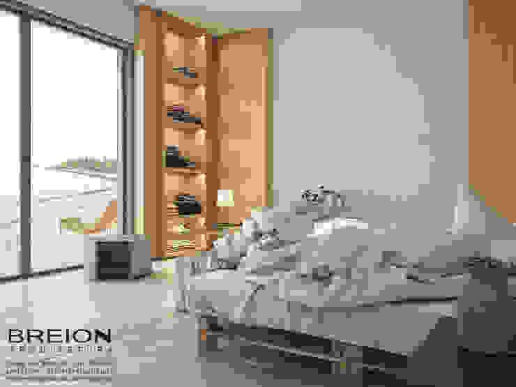Dormitorios de estilo minimalista de Breion Arquitetura Minimalista