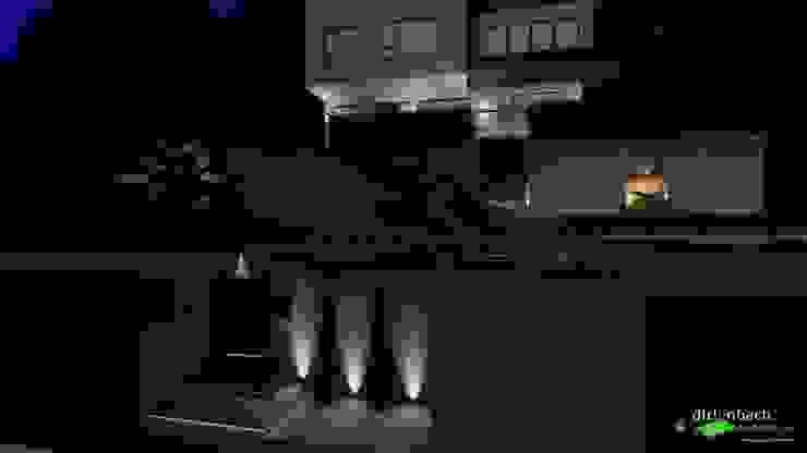 Gesamtbeleuchtung des Hauseingangs dirlenbach - garten mit stil