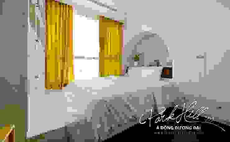 Căn hộ Park Hill Á-Đông-Đương-Đại 99m2 Phòng ngủ phong cách chiết trung bởi Công ty cổ phần NỘI THẤT AVALO Chiết trung