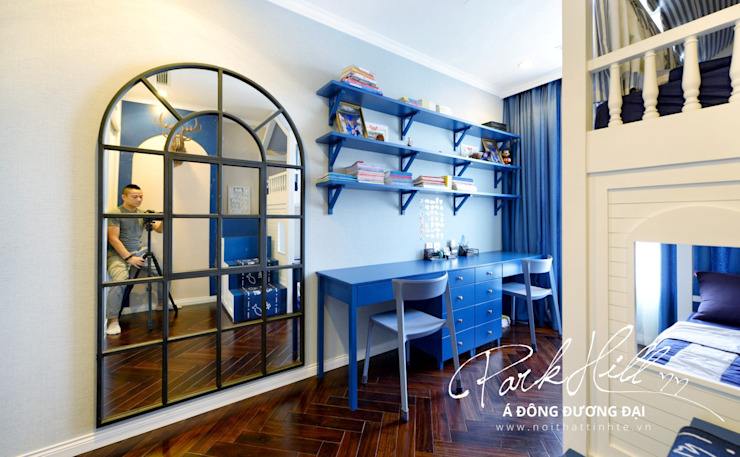 Căn hộ Park Hill Á-Đông-Đương-Đại 99m2 Phòng trẻ em phong cách chiết trung bởi Công ty cổ phần NỘI THẤT AVALO Chiết trung