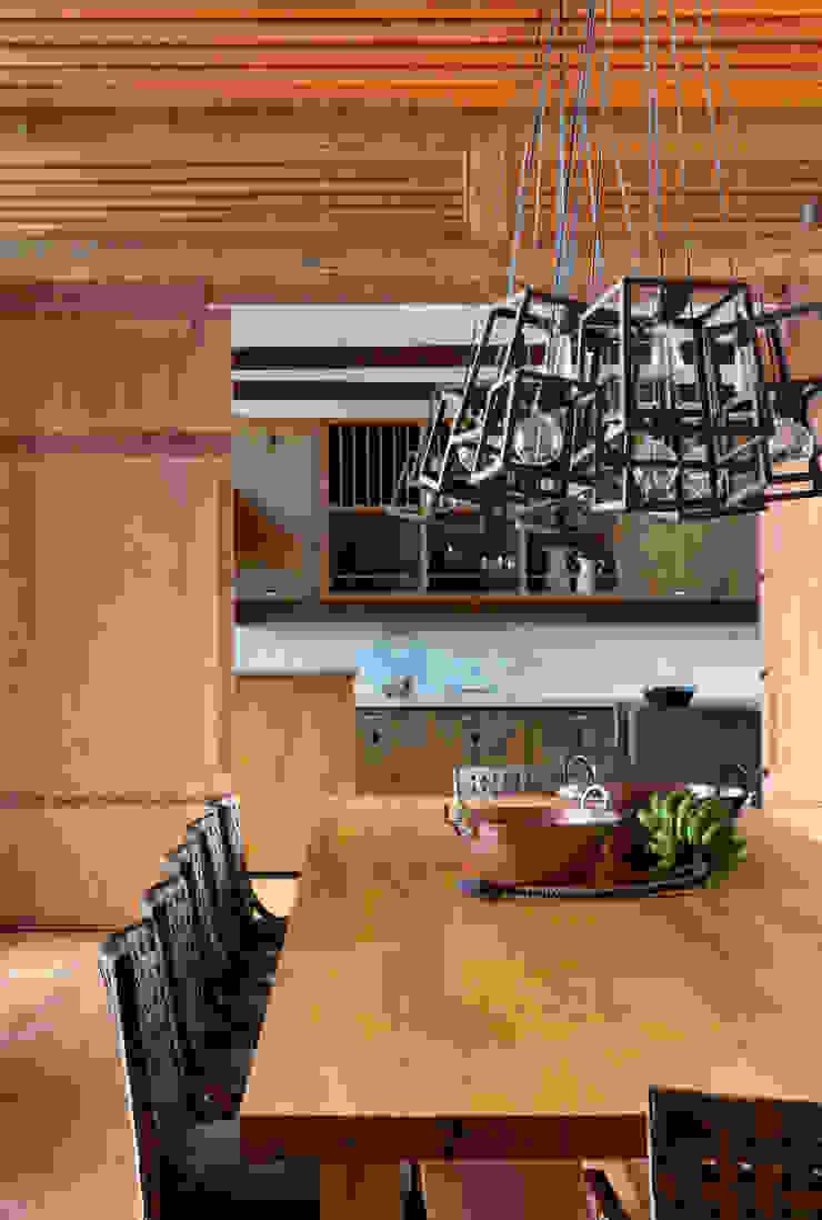 Gisele Taranto Arquitetura Comedores de estilo rural