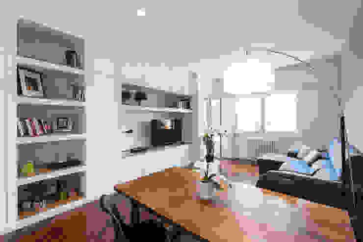 Wohnzimmer von Grippo + Murzi Architetti, Modern