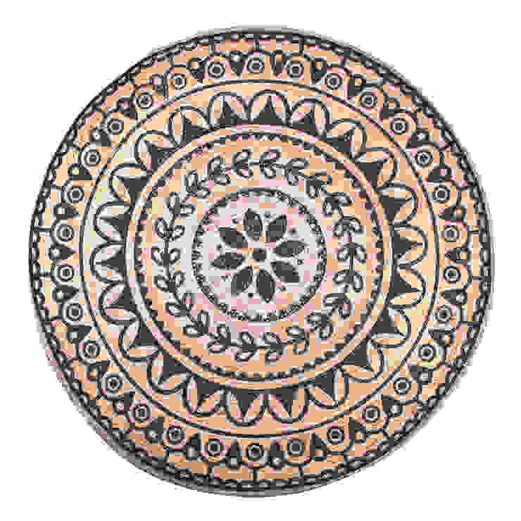 Vloerkleed; Carpet Jute round (6244) van Sfeerberg wonen & meer Landelijk