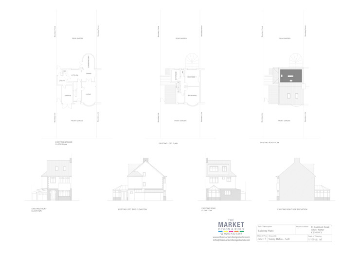 Architectural Drawings The Market Design & Build
