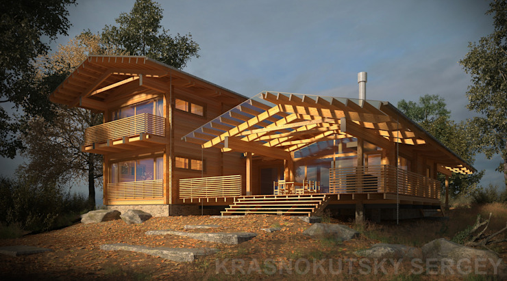 by project-ks Rustic Wood Wood effect