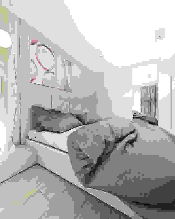 Quartos modernos por FOORMA Pracownia Architektury Wnętrz Moderno