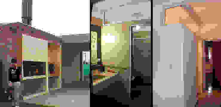 Casa Tierra de Sueños 3 Livings modernos: Ideas, imágenes y decoración de ELVARQUITECTOS Moderno