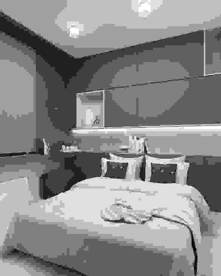 Modern style bedroom by FOORMA Pracownia Architektury Wnętrz Modern