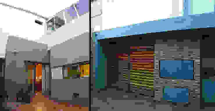 Casa M_1087 Jardines modernos: Ideas, imágenes y decoración de ELVARQUITECTOS Moderno