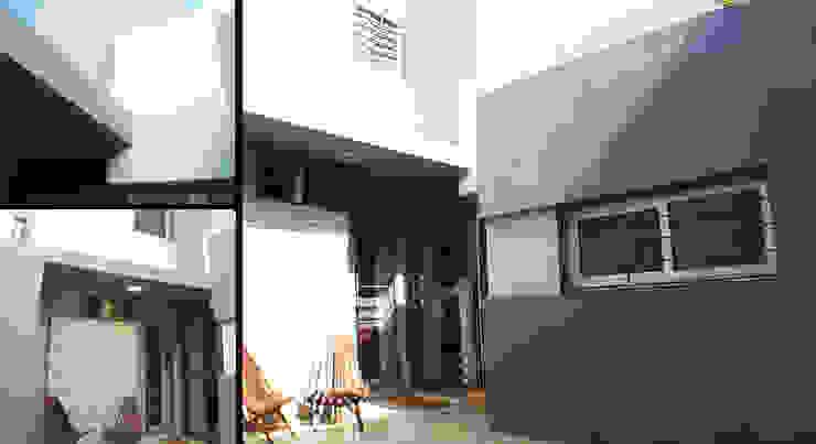 Casa M-1216 Casas modernas: Ideas, imágenes y decoración de ELVARQUITECTOS Moderno