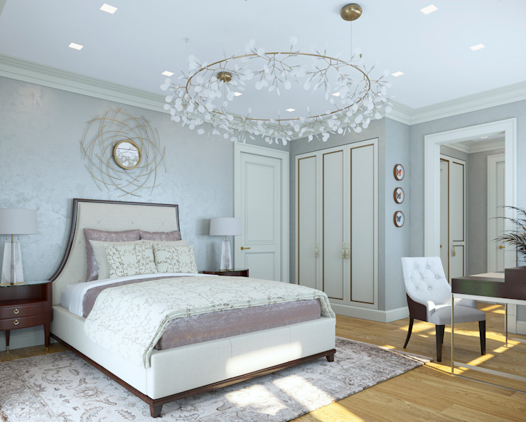 Eclectic style bedroom by Archdetail Eclectic