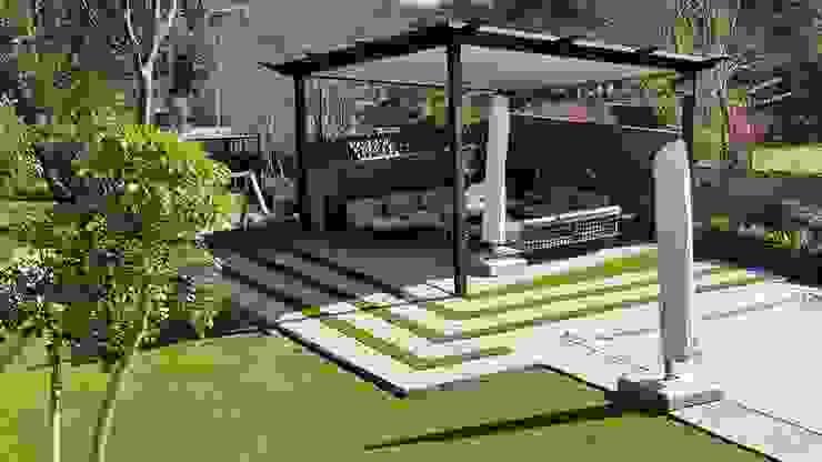 Lynnwood Strubenkop Estate Modern Garden by Gorgeous Gardens Modern