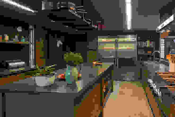 Casa AR Cocinas de estilo moderno de ARCO Arquitectura Contemporánea Moderno