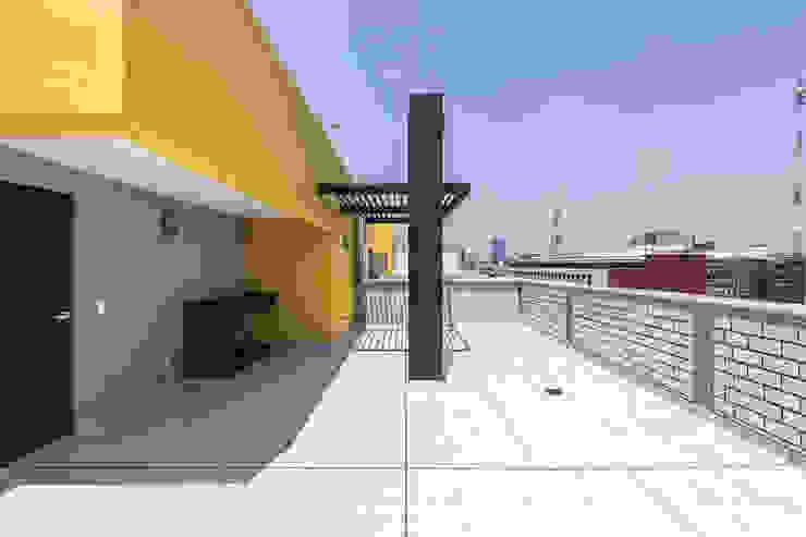 Desarrollo Dr. Vértiz ARCO Arquitectura Contemporánea Balcones y terrazas modernos