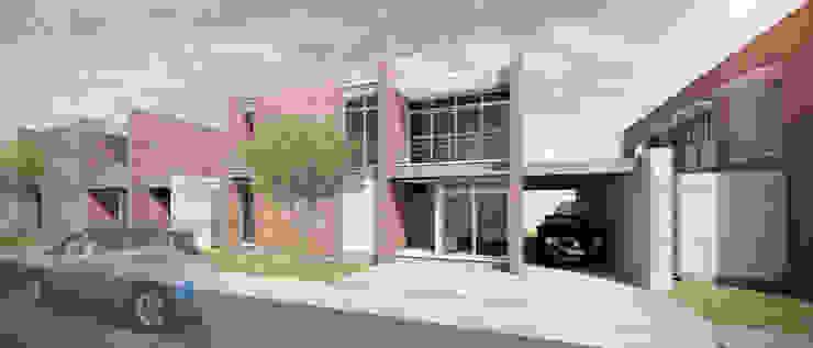 Fachada Principal Casas estilo moderno: ideas, arquitectura e imágenes de homify Moderno