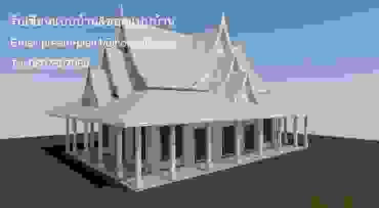รับเขียนแบบบ้าน&ออกแบบบ้าน Rumah Gaya Kolonial