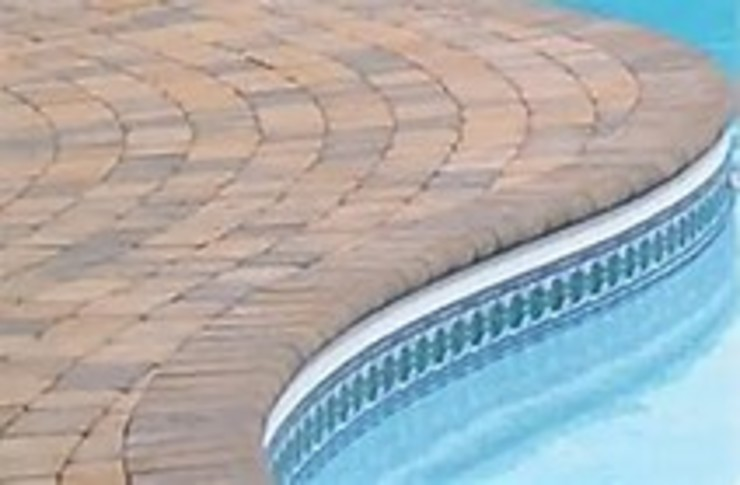 Poolside Paving Project by Paving Cape Town