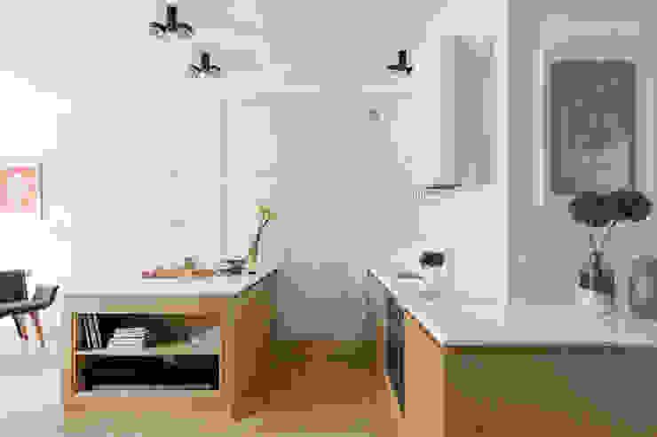 Dapur Gaya Skandinavia Oleh Ayuko Studio Skandinavia