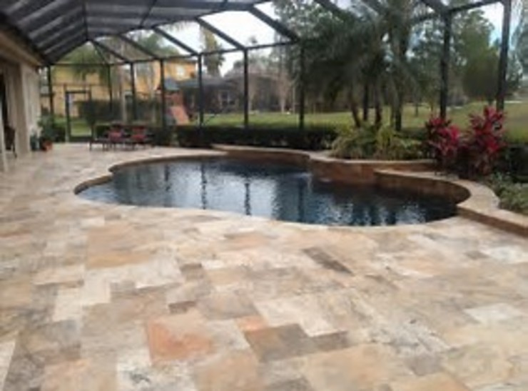 Patio Construction Project by Durban Paving