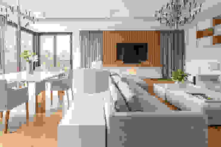 Ayuko Studio Modern living room