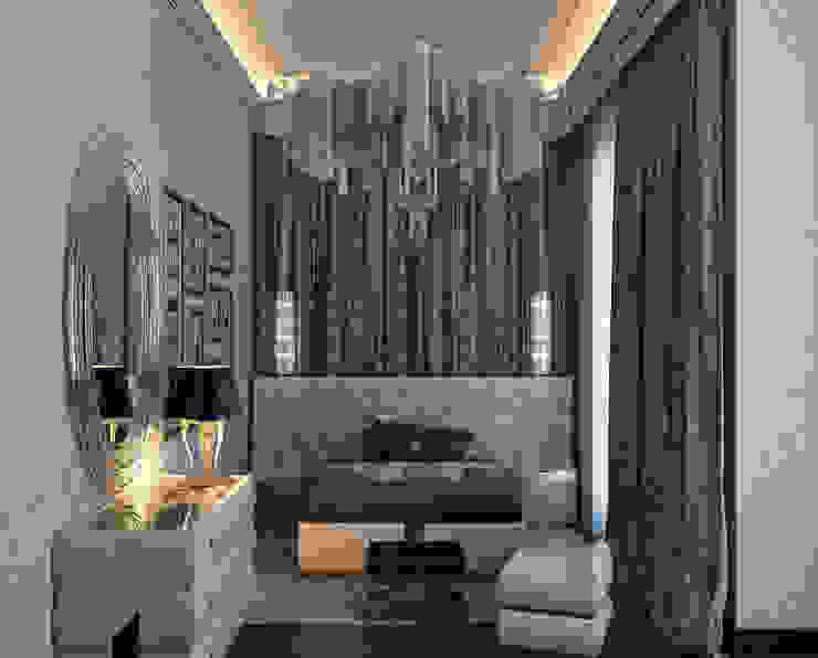 Загородный дом Архитектурное бюро 'Дом-А' Спальня в классическом стиле