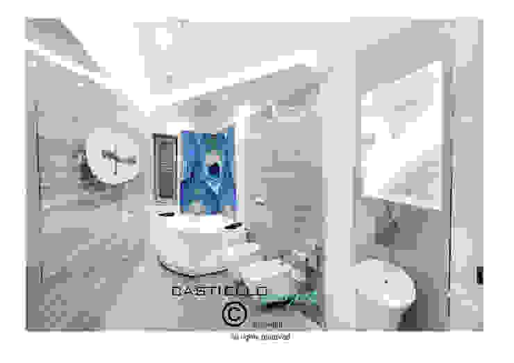 Baños de estilo moderno de CASTIELLOproject Moderno