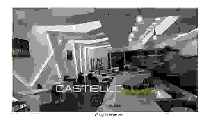 CASTIELLOproject Przestrzenie biurowe i magazynowe