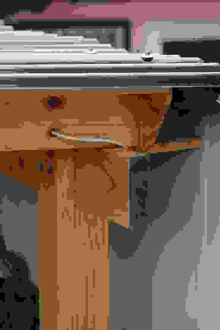 Cobertizo 2 La Florida Balcones y terrazas rústicos de Constructora Acuña Rústico Madera Acabado en madera