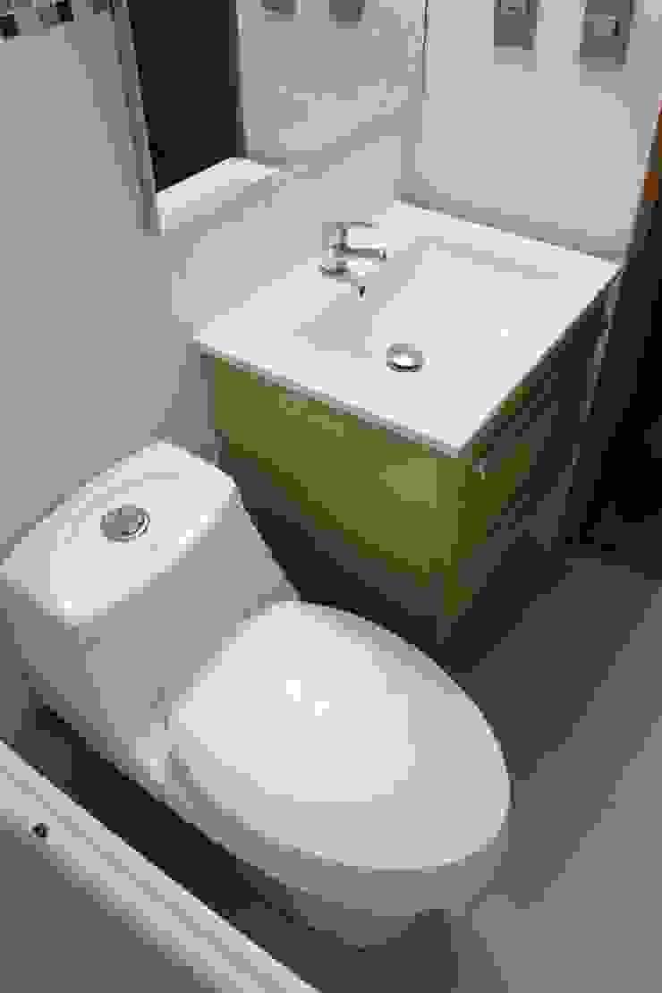 Remodelación Baño Visitas San pascual, Las Condes de Constructora Acuña