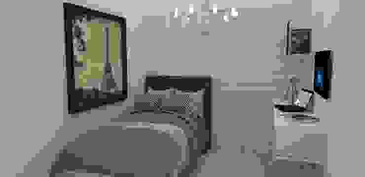 Habitacion glamour Habitaciones de estilo clásico de Naromi Design Clásico Madera Acabado en madera