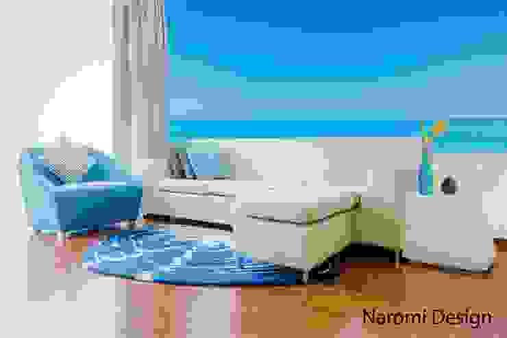 Mediterrane Wohnzimmer von Naromi Design Mediterran