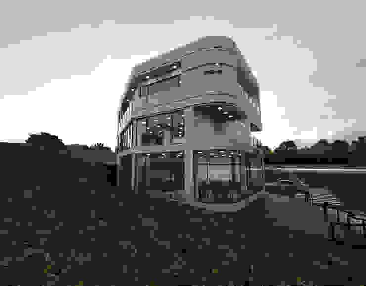 주상복합건물-충청남도 논산시 L씨 모던스타일 주택 by 디자인 이업 모던 금속