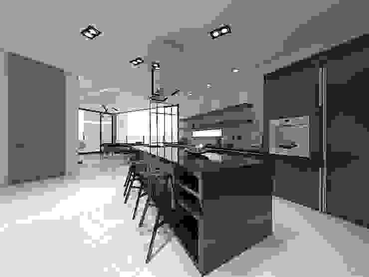 Modern kitchen by 디자인 이업 Modern Marble