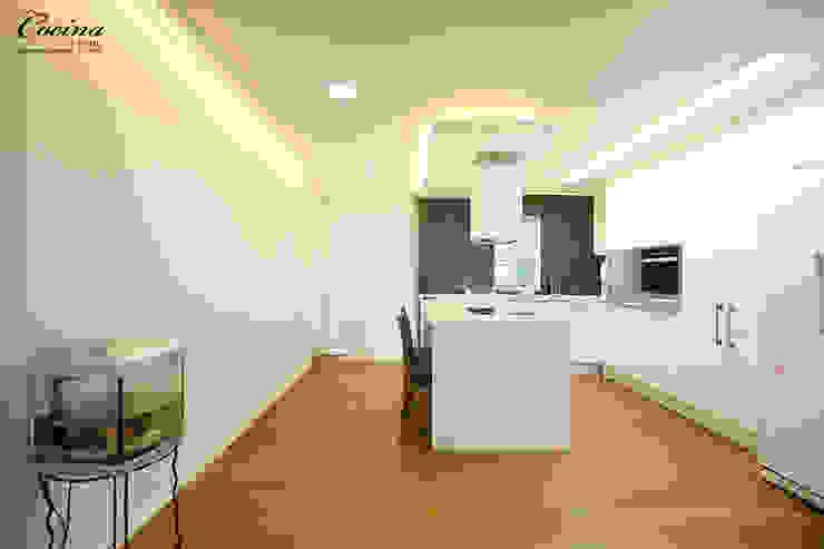 cocina Dapur Modern White