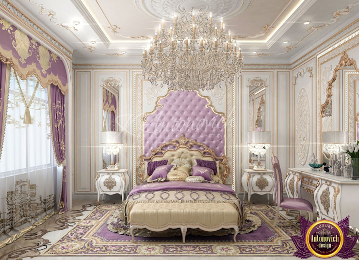  Best Master Bedroom Design Ideas of Katrina Antonovich Classic style bedroom by Luxury Antonovich Design Classic