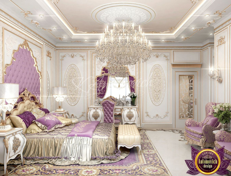 ​ Best Master Bedroom Design Ideas of Katrina Antonovich Classic style bedroom by Luxury Antonovich Design Classic