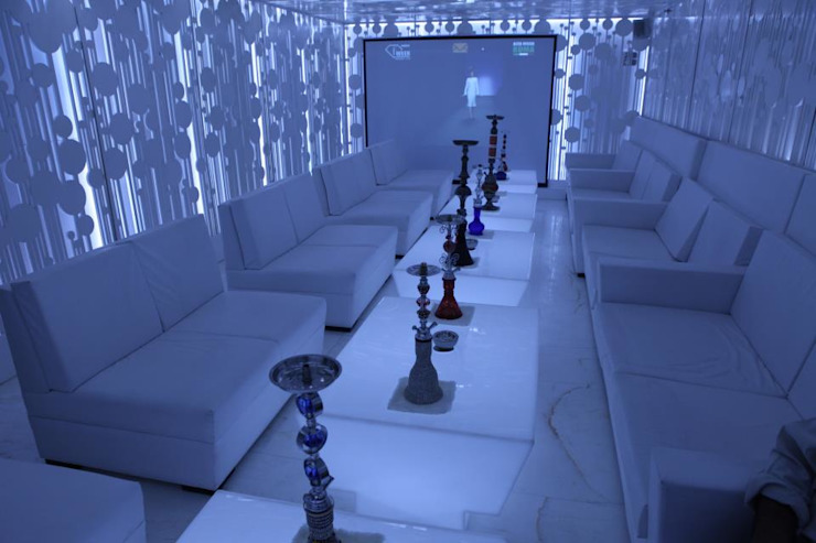 Sheesha lounge by Sanjiv Malhan