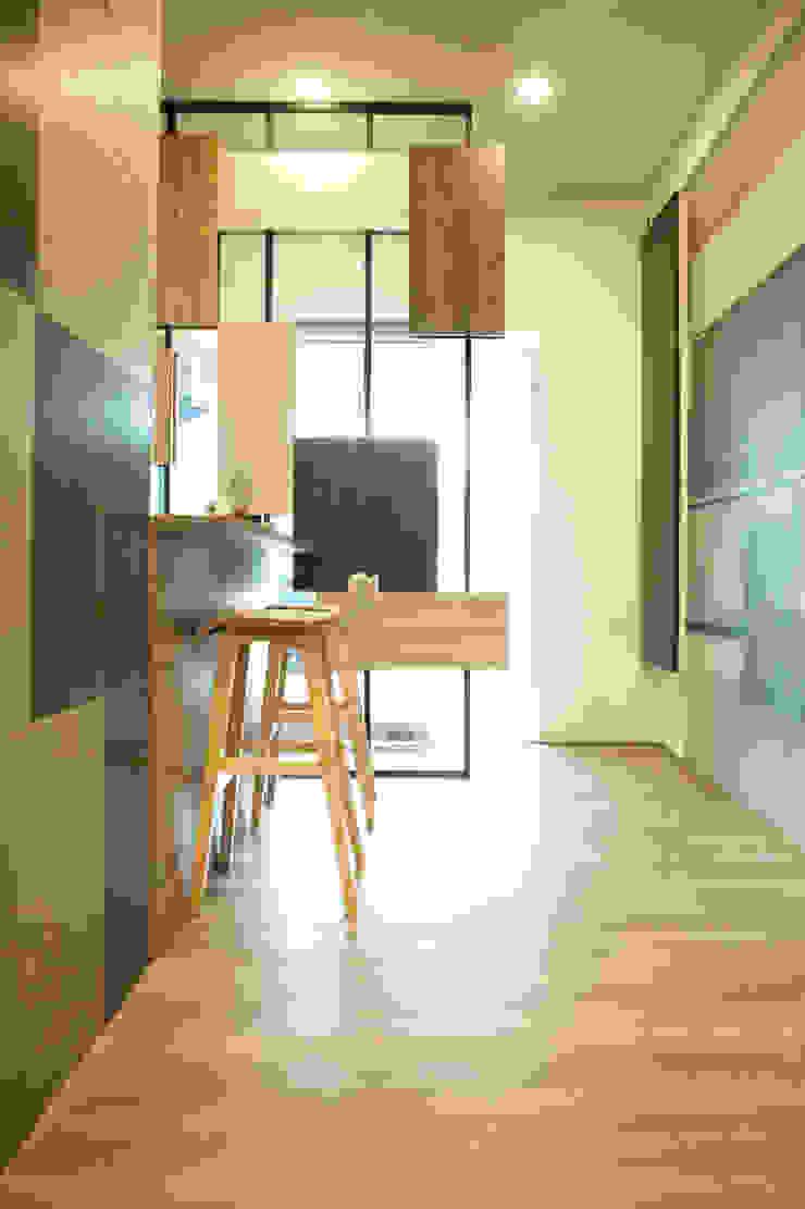 小吧檯設計 根據 澄嶧空間設計 簡約風
