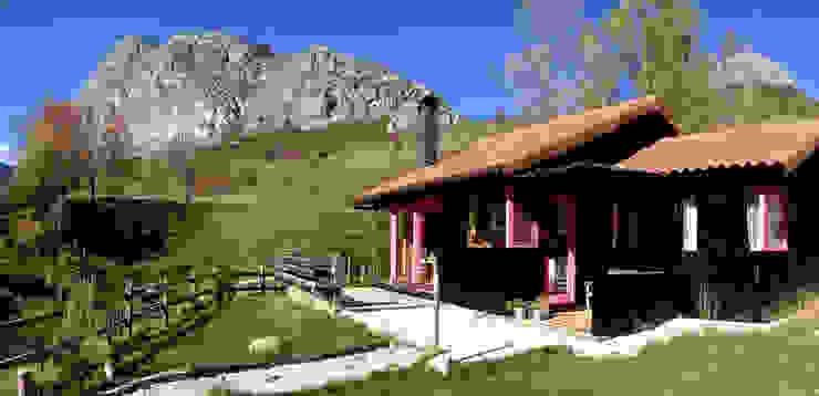 Hoteles de estilo rural de Rusticasa Rural Madera maciza Multicolor